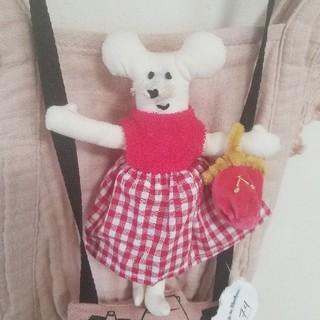 ボンポワン(Bonpoint)の作家 ネズミ ねずみ ぬいぐるみ 人形(ぬいぐるみ/人形)