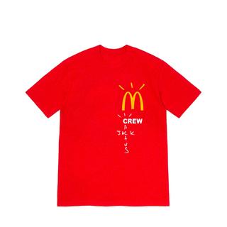 シュプリーム(Supreme)のTravis Scott x McDonald's Crew T-Shirt(Tシャツ/カットソー(半袖/袖なし))