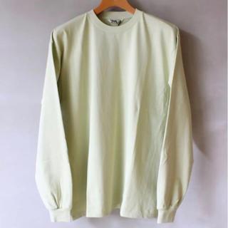 コモリ(COMOLI)のAURALEE LUSTER PLAITING L/S TEE(Tシャツ/カットソー(七分/長袖))