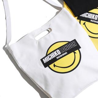 ミチコロンドン(MICHIKO LONDON)のトートバック トートバッグ ミチコロンドン ニコちゃん ウィゴー(トートバッグ)