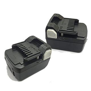 ヒタチ(日立)の2個★日立 BSL1430 互換 バッテリー 14.4V 3.0Ah ヒタチ(変圧器/アダプター)