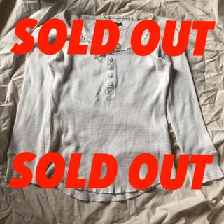 ラルフローレン(Ralph Lauren)のRalph Lauren サーマルロンT ワッフル生地 アイボリー(Tシャツ(長袖/七分))
