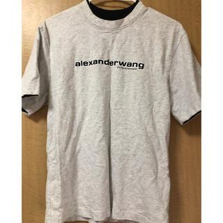 アレキサンダーワン(Alexander Wang)のアレキサンダーワン❤︎センターロゴTシャツ(Tシャツ(半袖/袖なし))