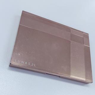 ルナソル(LUNASOL)のLUNASOL コンパクトケース(チーク)