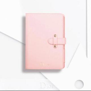 ディオール(Dior)のDior ピンク ノート 非売品(ノート/メモ帳/ふせん)