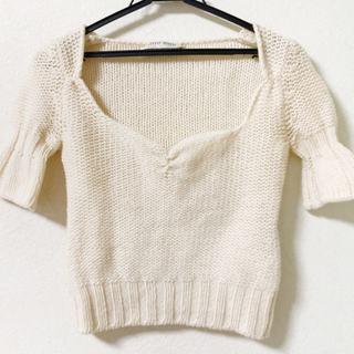 ミュウミュウ(miumiu)のミュウミュウ 半袖セーター レディース(ニット/セーター)