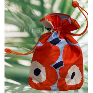 マリメッコ(marimekko)の人気♡マリメッコ 巾着 ママ&オムツポーチにも♪(バッグ)