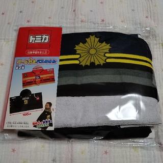 タカラトミー(Takara Tomy)の【トミカ】フード付きバスタオル 警察官Ver.(タオル/バス用品)