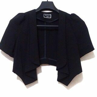 グレースコンチネンタル(GRACE CONTINENTAL)のダイアグラム ボレロ サイズ36 S美品  黒(ボレロ)