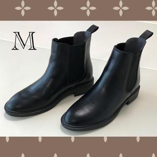 ローリーズファーム(LOWRYS FARM)のローリーズファーム サイドゴアブーツ M ブラック ショートブーツ(ブーツ)