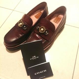 コーチ(COACH)のCOACH コーチ 厚底 ローファー Lenox (ローファー/革靴)