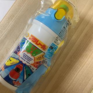 プラレール☆480ml プッシュ式 直のみスポーツボトル(水筒)
