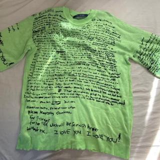ノーアイディー(NO ID.)のno id ニット フリーサイズ(Tシャツ/カットソー(半袖/袖なし))
