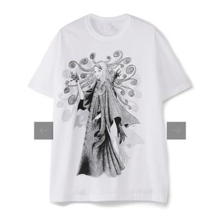 ヨウジヤマモト(Yohji Yamamoto)のヨージヤマモト×伊藤潤二 うずまき Tシャツ L(Tシャツ/カットソー(半袖/袖なし))