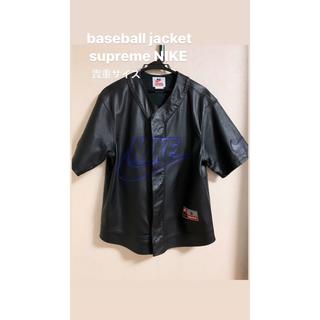 シュプリーム(Supreme)のsupreme NIKE baseball shirts S BLACK (Tシャツ/カットソー(半袖/袖なし))