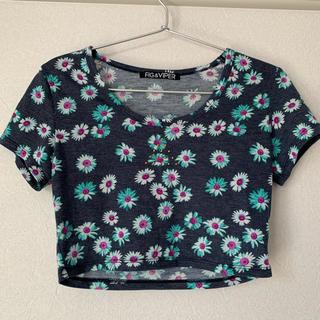 フィグアンドヴァイパー(FIG&VIPER)のショート丈 トップス(Tシャツ(半袖/袖なし))