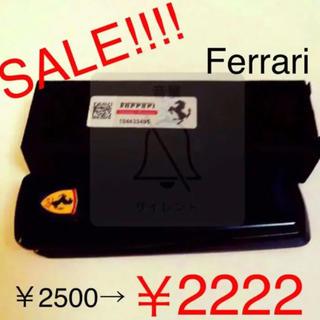 フェラーリ(Ferrari)の残りわずか!新品☆未使用 フェラーリ ライター黒 (USB充電機能付き)(タバコグッズ)