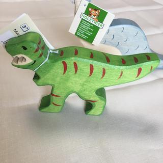 コドモビームス(こどもビームス)のholztiger T REX ティラノサウルス(知育玩具)