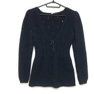 ミュウミュウ(miumiu)のミュウミュウ 長袖セーター サイズ40 M -(ニット/セーター)
