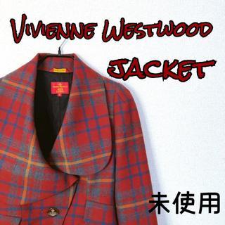 Vivienne Westwood - 【新品未使用】ヴィヴィアン チェックジャケット テーラード