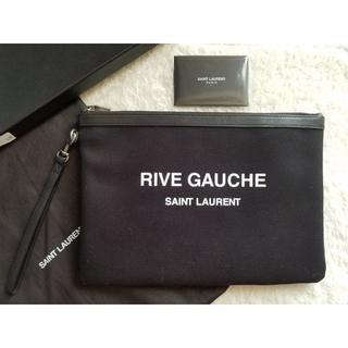 Saint Laurent - SAINT LAURENT サンローラン Rive Gauche クラッチバッグ