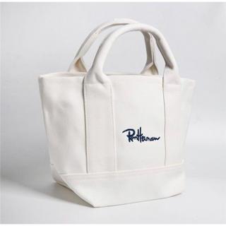 ロンハーマン(Ron Herman)のRonHerman ミニトートバッグ  ホワイト 新品未使用品(トートバッグ)