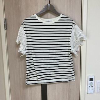 ジーナシス(JEANASIS)のジーナシス ボーダー 半袖(Tシャツ(半袖/袖なし))