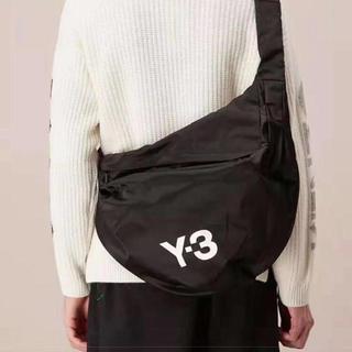 ワイスリー(Y-3)のY-3 ワイスリー ヨージ ウォッシャブル ボディバッグ 黒 新品未使用(バッグパック/リュック)