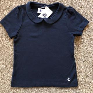 プチバトー(PETIT BATEAU)のプチバトー 襟付きカットソー(Tシャツ/カットソー)
