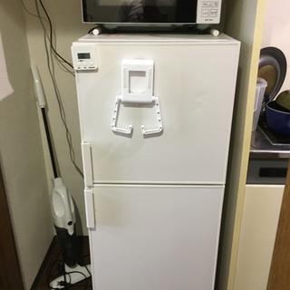 ムジルシリョウヒン(MUJI (無印良品))の無印良品 電気冷蔵庫・137L 型番:AMJ‐14D(冷蔵庫)