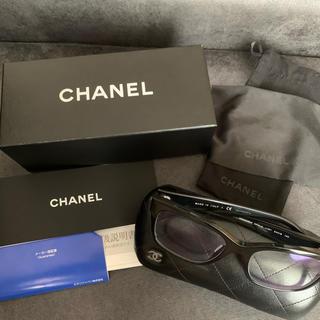 シャネル(CHANEL)の美品【CHANEL】メガネ 3347-A c.501(サングラス/メガネ)