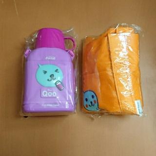 コカコーラ(コカ・コーラ)のQoo クー 水筒&トートバッグ 子ども 可愛い(キャラクターグッズ)