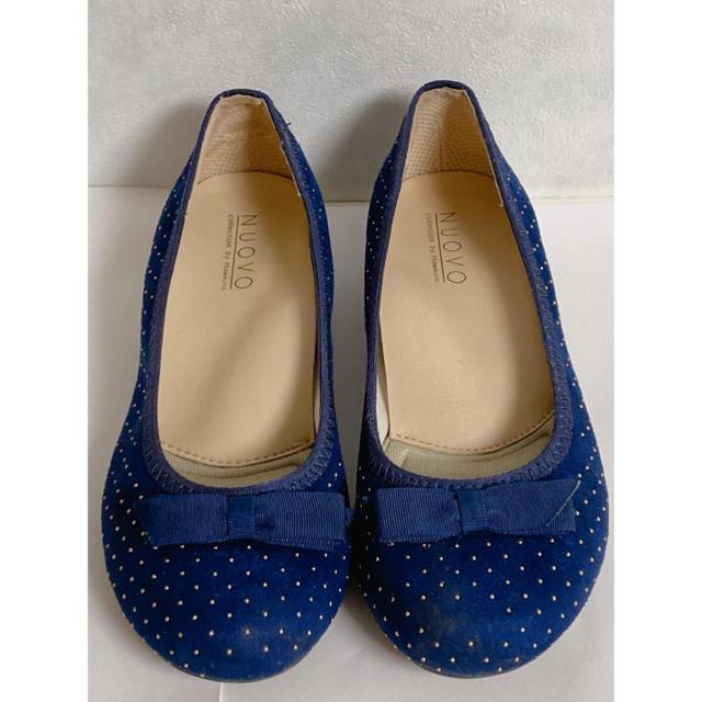 Nuovo(ヌォーボ)のNUOVO フラットシューズ パンプス レディースの靴/シューズ(バレエシューズ)の商品写真