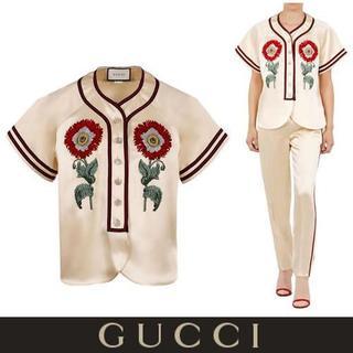 グッチ(Gucci)のGUCCI ダッチェス サテンシャツ(その他)