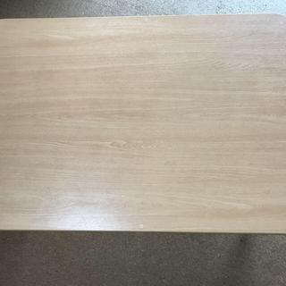 【座卓】持ち手付持ち運びテーブル☆90×60×40☆美品(ローテーブル)