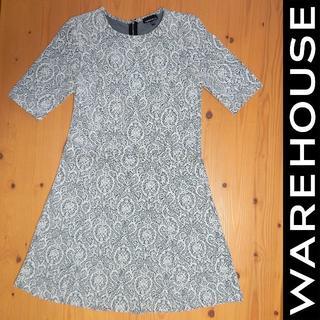 ウエアハウス(WAREHOUSE)のWAREHOUSE|ウエアハウス ワンピース size UK 12(ひざ丈ワンピース)