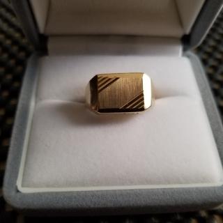 K14金メンズ指輪、未使用に近い(リング(指輪))