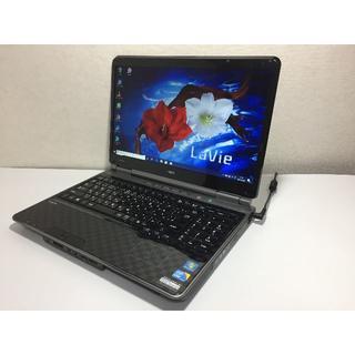 エヌイーシー(NEC)の新SSD240GB/4GB/i5 NEC LL750/B 黒(ノートPC)