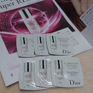 クリスチャンディオール(Christian Dior)のDior ディオール カプチュール 美容液 サンプル(美容液)