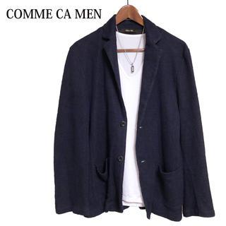 コムサメン(COMME CA MEN)のCOMME CA MEN テーラードジャケット カジュアルジャケット紺色(テーラードジャケット)