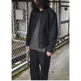 コモリ(COMOLI)のcomoli デニムジャケット 20AW ブラック(Gジャン/デニムジャケット)