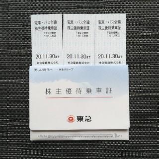 東急株主優待 乗車券(鉄道乗車券)