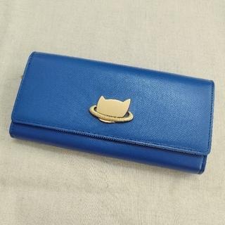 ツモリチサト(TSUMORI CHISATO)のTSUMORI CHISATO 長財布 ネコプラネット(財布)