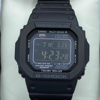 ジーショック(G-SHOCK)のカシオジーショックメンズ腕時計デジタル表示電池交換不要(腕時計(デジタル))