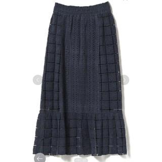 デミルクスビームス(Demi-Luxe BEAMS)のDemi-Luxe BEAMS me Quittez pasレースロングスカート(ロングスカート)