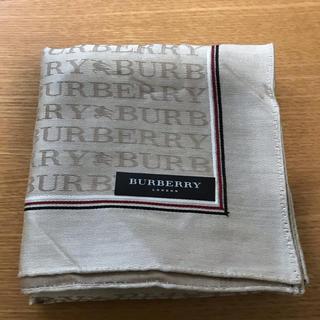 バーバリー(BURBERRY)のBURBERRY ハンカチ 紳士用(ハンカチ/ポケットチーフ)