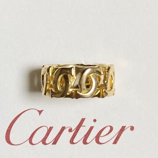 カルティエ(Cartier)の カルティエ アントルラセ リング K18YG Cartier(リング(指輪))