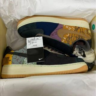 TRAVIS SCOTT × NIKE AIR FORCE 1 27.5cm(スニーカー)