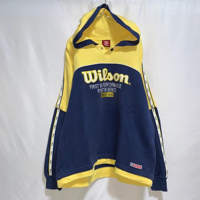 wilson(ウィルソン)の【90s】【希少】Wilson ウィルソン パーカー メンズのトップス(パーカー)の商品写真