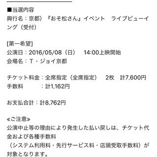 【京都】おそ松さん ライブビューイング(声優/アニメ)